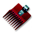 "SPEED-O-GUIDE the Original Red Clipper Comb #1 7 / 16""  SPG0716"