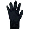 HAIRART Medium Black Latex Gloves 20 Pc Box 9515M