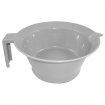 HAIRART Tint Bowl with Handle Non-Slip Bottom Grey 12303