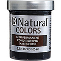 JEROME RUSSELL B Natural Colors Semi-Permanent Conditioning Hair Color Black 3.5 oz
