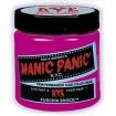 MANIC PANIC Semi-Permanent Hair Color Cream Fuschia Shock 4oz No: HCR 11013