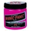MANIC PANIC Semi-Permanent Hair Color Cream Hot Hot Pink 4oz No: HCR 11015