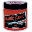 MANIC PANIC Semi-Permanent Hair Color Cream Infra Red 4oz No: HCR 11016