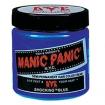 MANIC PANIC Semi-Permanent Hair Color Cream Shocking Blue 4oz No: HCR 11028