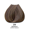 SATIN Hair Color Natural Series 5N Light Brown 3 oz  SAT2054