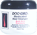 DOO GRO Medicated Hair Vitalizer Anti Itch Formula Promotes Strong, Healthy, Growing Hair Relieves Itching, Scratching & Dandruff 4oz / 113g