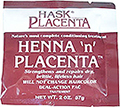 HASK PLACENTA Henna n Placenta Conditioning Treatment Strengthens & Repairs  Dry, Brittle, Lifeless Hair  2oz / 57g
