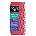 DIANE Self-Grip Rollers 1 1/2 inch Red 4-Pack 3721