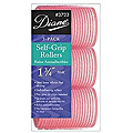 DIANE Self-Grip Rollers 1 3 / 4 inch Pink 3-Pack 3723
