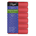 DIANE Magnetic Roller 1 1 / 2 inch Red 12-Pack 2721