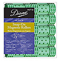 DIANE Snap-On Magnetic Roller 7 / 8 inch Green 10-Pack 4718