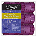 DIANE Snap-On Magnetic Roller 1 3/4 inch Purple 6-Pack 4723