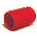 HAIRART 1 1 / 2 Inch EZ Rollers Medium Bouf. Red (Pack of 6) 13303