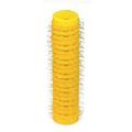 HAIRART 1 / 2 Inch EZ Rollers Mini Yellow (Pack of 6) 13313