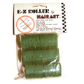 HAIRART 1 1 / 8 Inch EZ Rollers Short Green (Pack of 6) 13312
