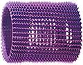 "JET SET 2-1 / 8"" Ez Grip Rollers Purple  GA0114"