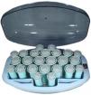 PROFILES Spa 24-Roller Flocked Hairsetter  P1142