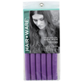 HAIR WARE 7 / 8 inch Twist N Curl Purple  HW08010