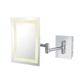 KIMBALL YOUNG Single Sided LED Rectangle Wall Mirror 92943HW