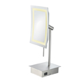KIMBALL YOUNG Single Sided LED Rectangle Minimalist Vanity Mirror  72373