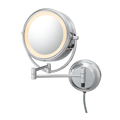 KIMBALL & YOUNG Neo Modern Double-Sided LED Lighted Mirror Chrome 92545