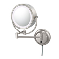 KIMBALL & YOUNG Neo Modern Double-Sided LED Lighted Mirror Polished Nickel 92585
