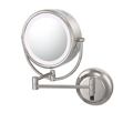 KIMBALL & YOUNG Neo Modern Double-Sided LED Lighted Mirror Hardwired Chrome 92545HW