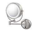 KIMBALL & YOUNG Neo Modern Double-Sided LED Lighted Mirror Hardwired Polished Nickel 92585HW
