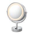 KIMBALL & YOUNG Neo Modern LED Lighted Vanity Mirror Chrome 72545