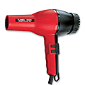TURBO POWER Turbo 1500 Professional Hair Dryer Red / Black  307