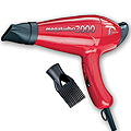TURBO POWER Mega Turbo 3000 Professional Hair Dryer  308 Red