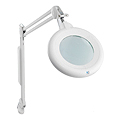 ULTRALIGHT Slimline Magnifying Lamp White  U22030-01