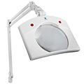 "DAYLIGHT Deluxe Magnifying Lamp XR White 7.5 x 7""  U23080"