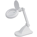 DAYLIGHT Table Magnifying Lamp White  UN1040
