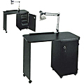"""PIBBS 18"""" X 38"""" Deluxe Locking Cabinet Nail Center  NC1006"""