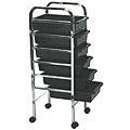 PIBBS 6 Shelf Utility Tray Black  906