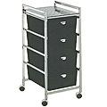 PIBBS 4 Drawer Cart Metal Frame  D24