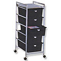 PIBBS 5 Drawer Cart Metal Frame  D25