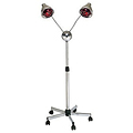PIBBS 2 Headed Lamp with Deluxe Base - Chrome Arms  DL957
