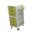 PIBBS Modular Trolley White / Green 2007WG