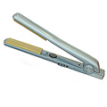 J2 COLOR Nano Tourmaline Ionic Technology Flat Iron 1 Inch Metallic Steel Blue  DRE2201