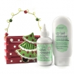 BE NATURAL Callus and Dry Heel Eliminator in Wooden Holiday Crate Gift Set