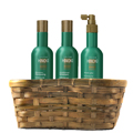 HAYASHI HINOKI Shampoo, Conditioner and Leave in Conditioner Gift Basket