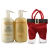 MIXED CHICKS Shampoo and Deep Conditioner in Santa Pants Gift Bag