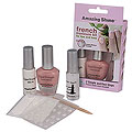 AMAZING SHINE NAILS French Manicure Kits Sheer Pink  752