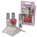 AMAZING SHINE NAILS French Manicure Kit Sheer Pink Beige  753