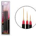 AMAZING SHINE NAILS Nail Brush 3pcs in Blister  316