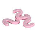 FLOWERY Pink Toe Separators in Pink Box of 100  TS-BU