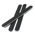 GETI BEAUTY Standard Black 240/240 Washable Nail File Made in USA (Pack of 50)