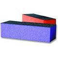 JUST FOR NAILS Medium / Coarse Sani Block Purple Quantity:12pcs  NOE796